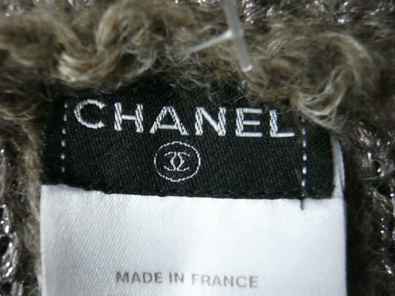 Chanel sublime veste mohair cardigan gilet sweater jacket knit