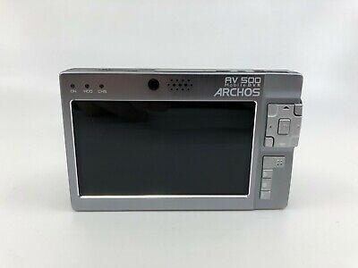 Archos AV 500 Silver Digital Media Player/ Portable DVR w/ accessories