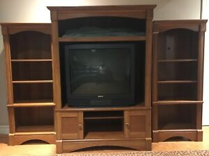 Wall Unit Book Shelf TV stand