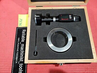 Starrett Digital Borematic Inside Micromete Intrimik 2 58-3 14 780xtz 314 P536