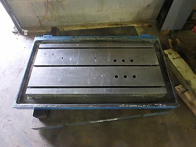 51 X 29-78 X 5 Steel Welding 3 T-slotted Table Cast Iron Layout Plate Jig