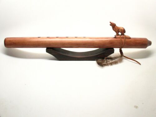 Native American Flute Stand Wooden #1203