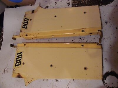 1959 Case 800 Gas Farm Tractor Grill Panels