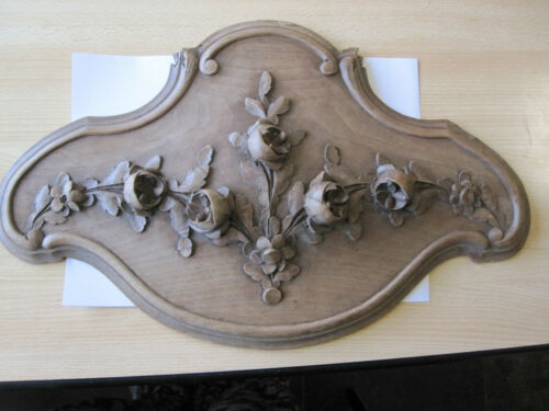 ANTIC DECORATIVE WALLNOAT PANEL/ BEAUTIFULL CARVING