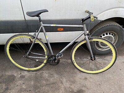 MUDDY FOX SINGLE SPEED BIKE WITH 28 INCH WHEELS AS ACQUIRED SPARES REPAIR