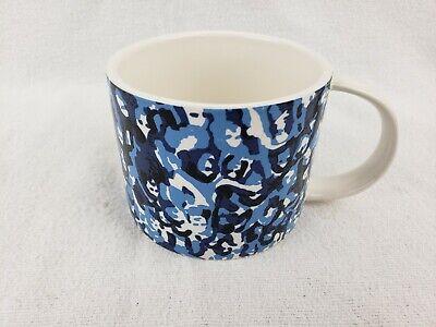 Kate Spade SATURDAY Blue White Coffee Mug