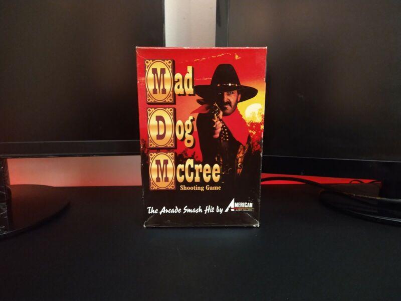 American Laser Games 'Mad Dog McCree' Shooting CDROM DOS PC Game PC BIG BOX