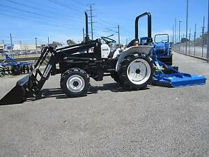 ***** MITSUBISHI 22HP'TRACTOR/FEL ***** Bentley Canning Area Preview