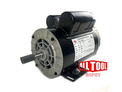 3 Hp Single Phase 3450 Rpm 56 Frame 230v 15amp 58 Shaft Nema Motor