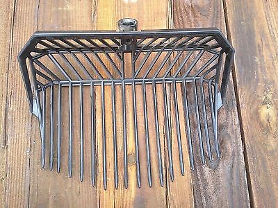 COWBOY FORK REPLACEMENT HEAD - PKG of 3 - MANURE BEDDING BARN STABLE STALL RAKE
