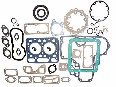 New Kubota Z750 Full Gasket Set WITH all Seals
