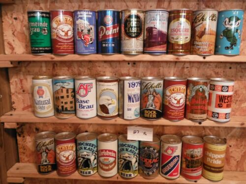 84 BOTTOM OPENED BEER CAN COLLECTION~#27