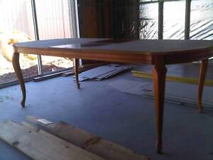 vintage victorian style dining table - suit resto -SA pick UP