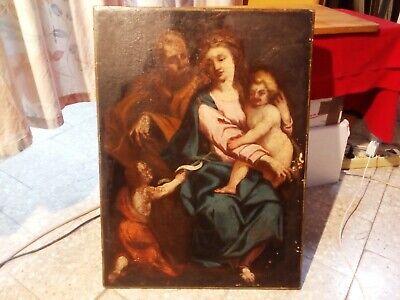 Quadro in olio su tela 58/68 cm , antico.