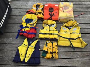 LIFEJACKETS LIFE VESTS SAFETY GEAR FOR FISHING BOATING Manly Manly Area Preview