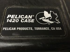 Pelican waterproof case