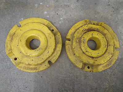 John Deere 40 S U Rear Wheel Weight M2292t Set 2