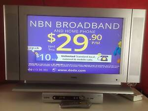 """25"""" BENQ Television DV2680 with TEAC Set Top Box HDB840 Woolloongabba Brisbane South West Preview"""