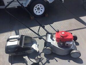 Victa Honda lawn mower