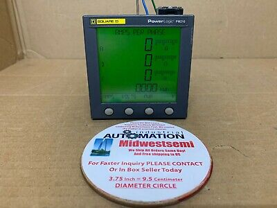 Square D Pm210 Power Logic Pm210 Power Meter Modbus Fastn Shipsameday - Tested