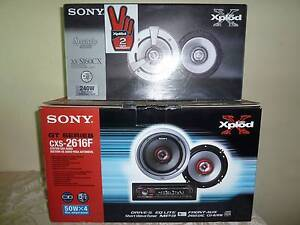 Sony Xplod Head Unit with 4 Speakers Valley View Salisbury Area Preview