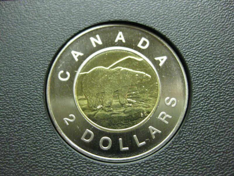 1997 Canadian Specimen Toonie ($2.00)  **Key Date**