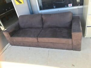 3 Seater Fabric Lounge in Excellent Condition - Price is fixed $195