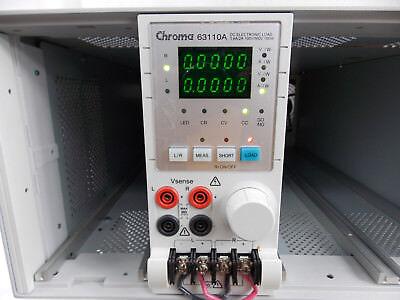 Chroma 6311a Dc Electronic Load Module 0.6a2a 100v500v 1000w