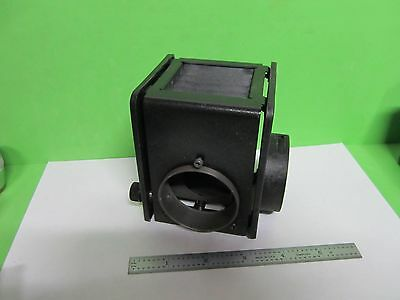 Microscope Part Nikon Japan Lamp Housing Illuminator As Pictured Bint4-06