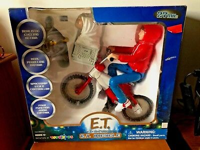 E.T. THE EXTRA-TERRESTRIAL BICYCLE RC RADIO CONTROL TOYS R US BRAND NEW IN BOX