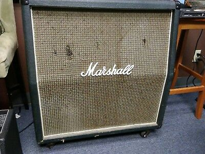 Marshall  vintage 1960A 4x12 1970's  ENGLISH made!
