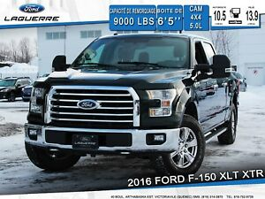 2016 Ford F-150 XLT XTR **CAM*4X4*COUVRE CAISSE*BLUETOOTH**