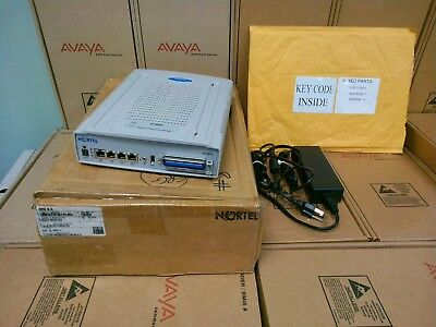 Nortel Bcm50 Expansion Unit Nt9t6500 07 With Power Adapter Key Code