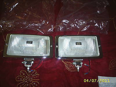 SUPER SPORT CLEAR DRIVING LIGHTS~SET OF 2( THESE ARE HUGE!!)