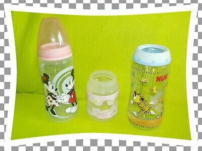 NUK Flaschen Paket SET First Choice  2 x groß ( Janosch & Mickey Maus Motiv )