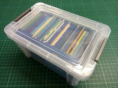 Box of 45 AMIGA  'FLOPPY DISKS'  3.5 inch - STORAGE BOX of 45 - DSDD