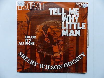 SHELBY WILSON ODISSEY Tell me why little man 49122