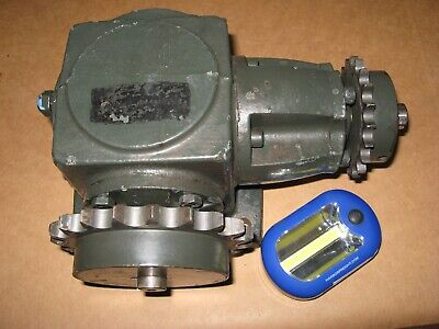 Used Boston Right Angle Spiral Bevel Gear Box 11 Ratio Cwcw