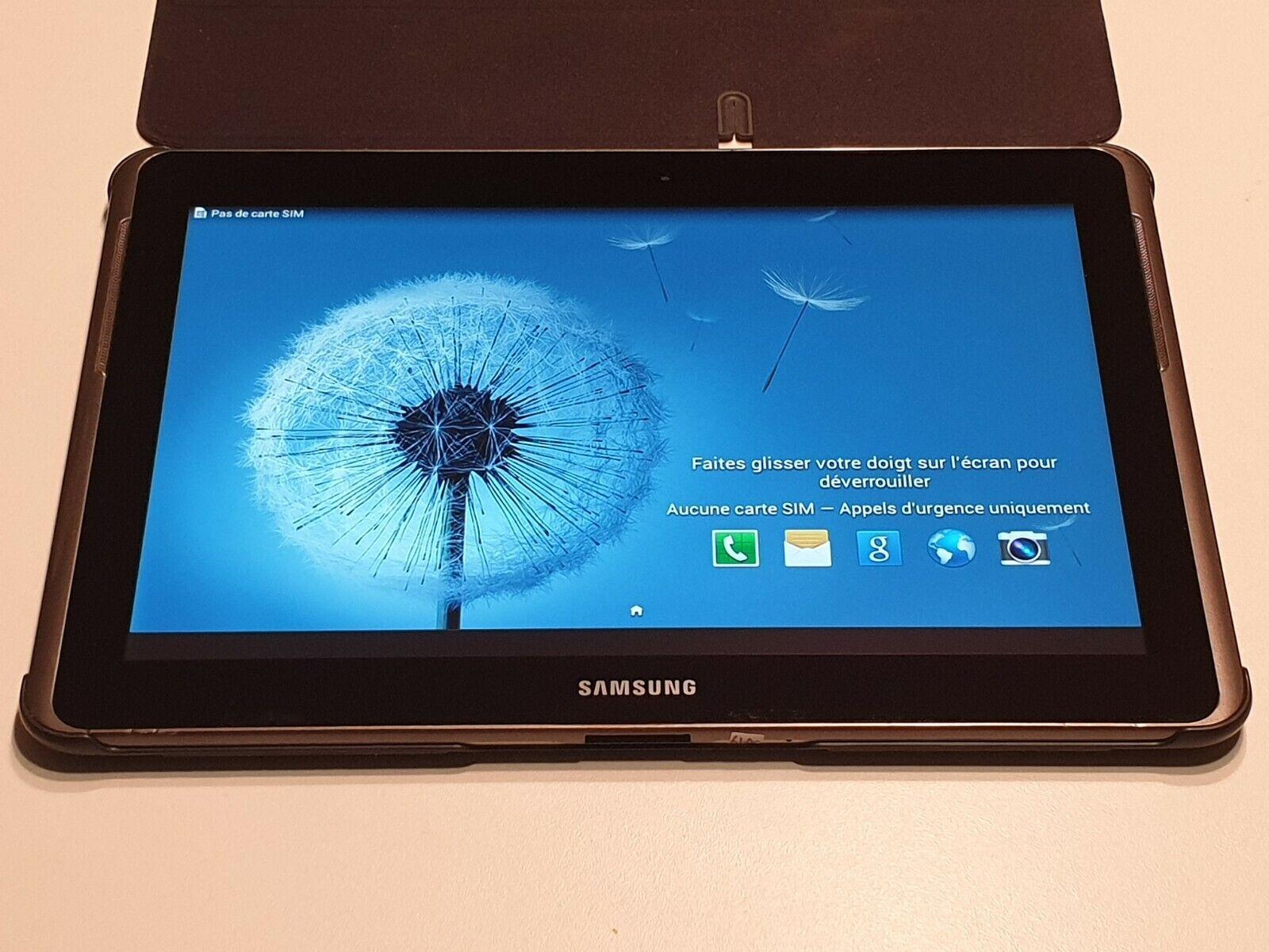 Tablette samsung galaxy tab 2 gt-p5100 - 3g tout opérateur - occasion bon état.