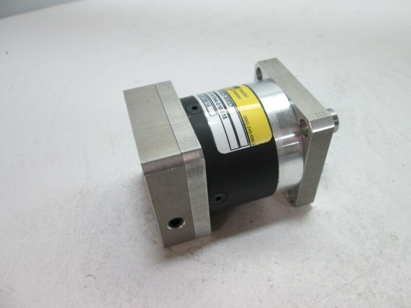 "Parker PEN023-005S7 Gearhead, 5:1 Ratio, Input: 0.375"" Dia, Output: 14mm Dia"