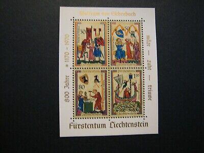 Liechtenstein Wolfram Von Eichenbach stamp sheets lot of 10 / 4vea  MNH OG