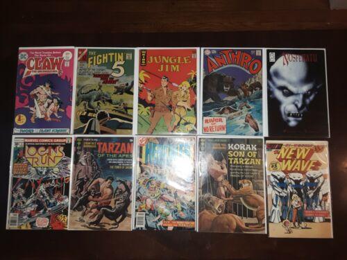 Lot of 10 1960s and 1970s Sci-Fi & Horror Comics Fightin