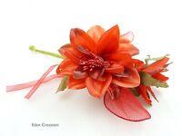 Fiore Porataconfetti Con Rachette Dahlia Rosso Bomboniere/bomboniera -  - ebay.it