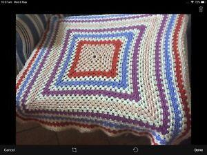 Lovely Crocheted Blanket