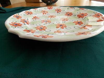 Vintage Fratelli Mari Deruta Italy 15 Floral Wall Plate Platter Sale - $15.00