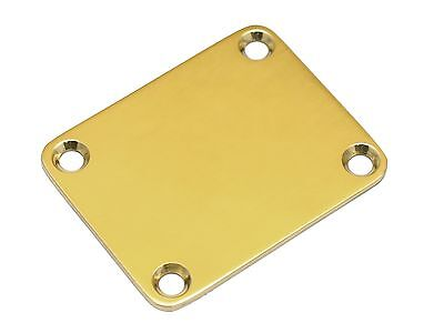 Parts Neck Plate (8009B Brass Stratocaster Neck Plate - Genuine Kahler® Parts )