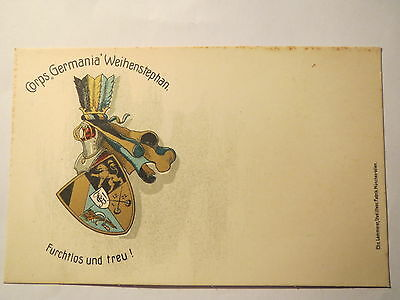 Weihenstephan - Corps Germania - Wappen / Studentika