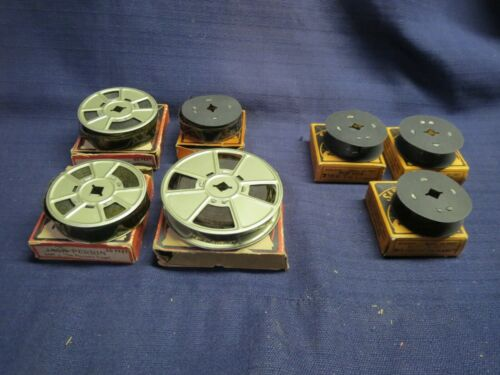 Lot of Vintage SAFETY FILMS - Empty Reels and Boxes
