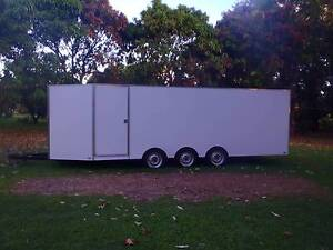 ENCLOSED CAR TRAILER RACE CAR TRAILER North Ward Townsville City Preview