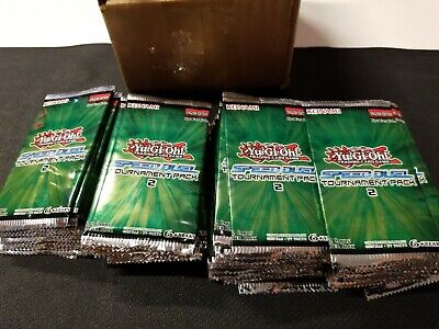 Yugioh! Speed Duel Tournament Pack 2 x3 Sealed Packs, fresh from box!
